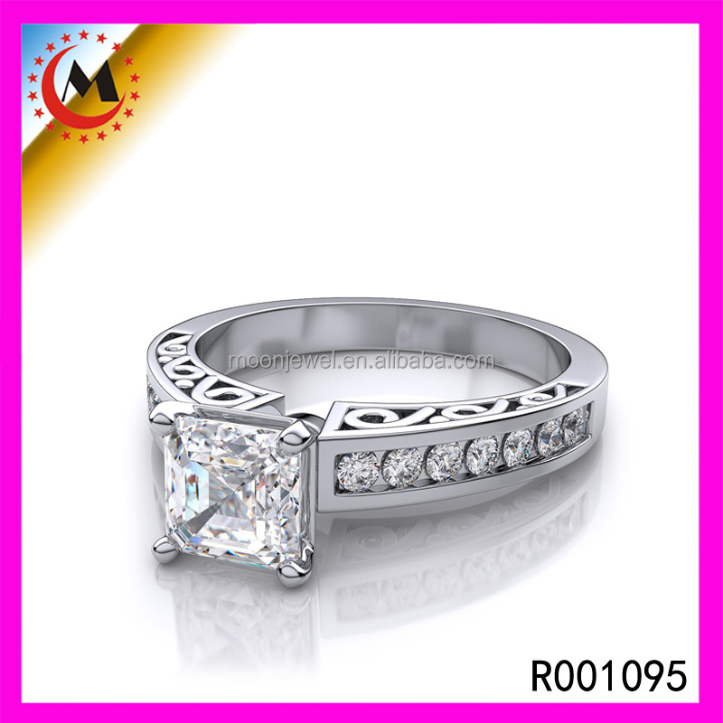 expensive fashion jewelry new design rings silver jewelry