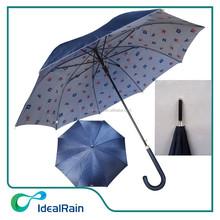 2015 special printing satin fabric promotional unique umbrella