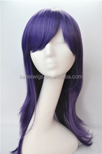 manufacturer fine layers heat resistant fiber cheap synthetic cosplay wigs