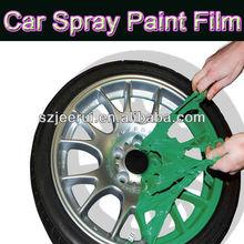 matte color,car decoration paint,rubber spray paint,arcylic washable anti uv removable pigment, peelable liquid paint for cars