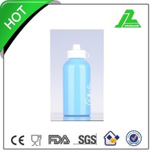 400ml aluminum sports bottle with carabiner,beer bottles,camping bottle with PP lid A