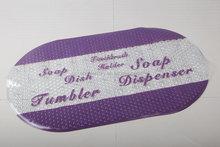Promotional Hottest color anti-slip bath mat/pvc shower mat