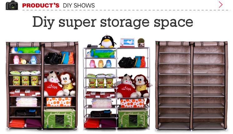 sw muebles para el hogar de almacenamiento dormitorio de metal ...