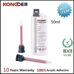 50ml 75ml glue cartridges for kitchen benchtops fabricator high bond strength