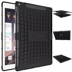 TPU+PC Protective Cover Hybrid Kickstand Case for iPad Pro