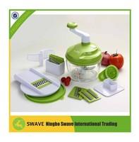 BPA free plastic kitchen tool Onion, fruit, cheese chopper vegetable slicer