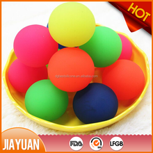 rubber bouncing ball for dogs and kids