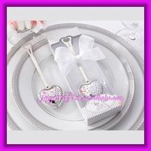 Wedding Favor Elegant White Gift Box Packed Tea Time Heart Tea Infuser