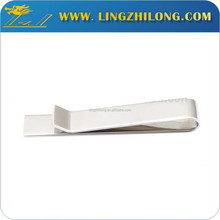 Custom high quality shirt ornament metal brass blank tie clip