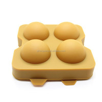 Silicone Ice ball maker molds for barware and coolers
