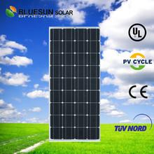 Bluesun good price per watt mono 150w mini solar panel