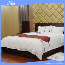 Made in Guangzhou,100% Cotton High Quality White Bedding Set