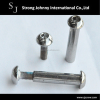 Stainless steel chicago screws binding post set