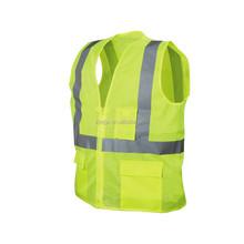 ANSI approval fashion hi viz waistcoat safety reflective mesh vest
