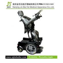 Lying and Standing electric wheelchair for physically disabled
