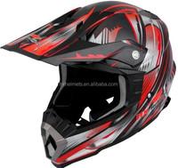 Motocross Helmets with Carbon Fiber