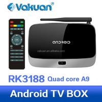 Quad core rk3188 russian internet tv box arabic iptv set top box with 2GB RAM 8GB ROM with Bluetooth 4.0