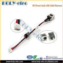 Laptop AC DC-in Power Jack Cable Connector interface for Dell Mini 9 910 10 1010 series (PJ088)