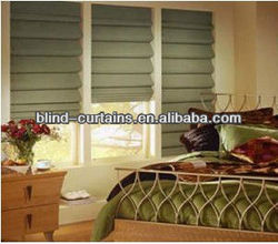 100% polyester Roman curtain/shade