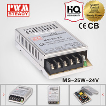 Hot sell MS-25 SMPS 25W 24v 1a AD/DC LED driver