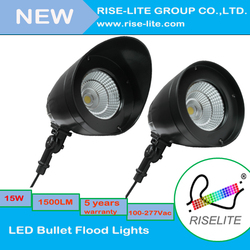 Hot sale !!!New Style high quality with meanwell driver 15w LED Bullet Flood Lights