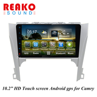 10.2 inch android car dvd with gps for toyota camry