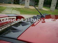 Carbon fiber rear fin spoiler for 07-10 Mitsubishi Lancer Vtx Roof Spoiler