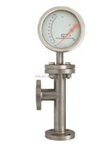 Metal tube variable area flow meters water/chemical flow meter