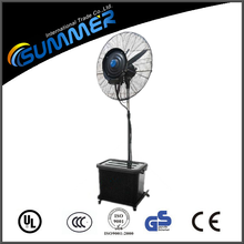 Cooling water mist fan made in china