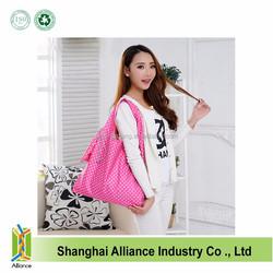 210D Nylon Folding Advertising Waterproof Tote Bag