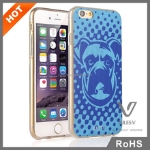 ultrathin 3D dog printing pc custom protector case cover for iphone 6 6 plus