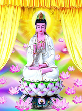 3d picture of Chinese Godness Guanyin/lenticular printing photos for gifts