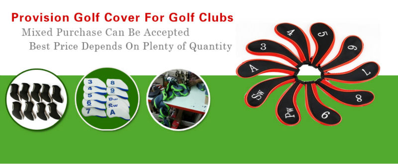2014 The Newest Design Multicolor Waterproof Iron Golf Cover;