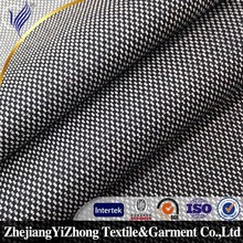 tr suiting check design tweed 8515 polyester viscose fabric