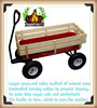 Easy go kids wood metal wagons