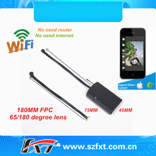 wireless mini 30fps audio video recording 720p WIFI DV camera, built-in chargable battery, support IOS, Android system