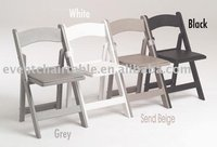 ZL-8055F White Cheap Outdoor Plastic Folding Chair For Sale