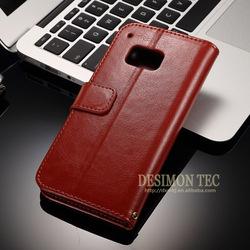 For htc one m9 case,m9 case,Desimon wholesale leather phone case