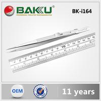 2015 Hot Sell BAKU stainless steel tweezers for BKI164 vetus tweezers.