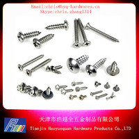 galvanized pan head self tapping screw from China factory