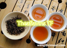 Theaflavins TF /in black tea /free radical-scavenging activity/weight loss