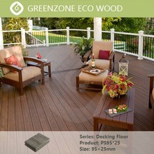 A new upscale flame retardant and waterproof, natural and relaxed balcony floor covering wpc panel