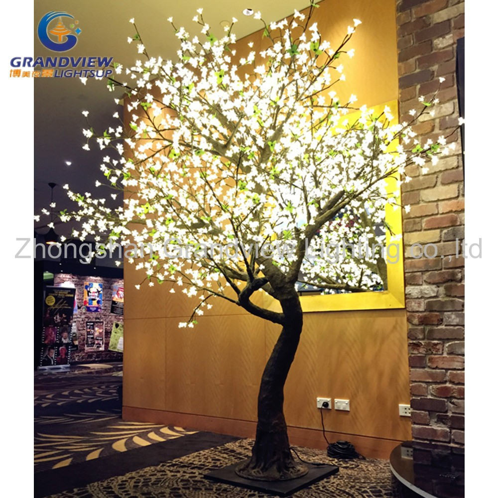 Led exterior impermeable led cherry blossom musical arbol - Luces para arboles ...