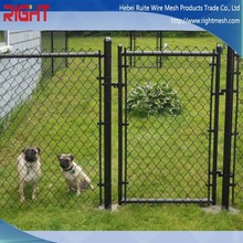 China Manufacturing Company Used Galvanized and PVC Chain Link Fence Posts