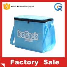 Silk printed non woven hot and cold cooler bag/Aluminium foil epe foam hot and cold bag