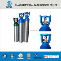filling oxygen gas cylinders 1L-50L High Aluminum Bottles Wholesale Aluminum Gas Cylinder Small Gas Cylinder