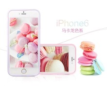 2015 newest Mobile phone Accessories Mobile Phone Cover Macaroon Color series for iPhone 6