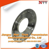 OEM alloy steel small diameter gear cogs
