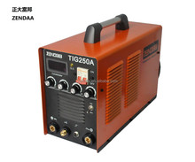 both TIG MMA function welding machine tig250, high quality and high performance