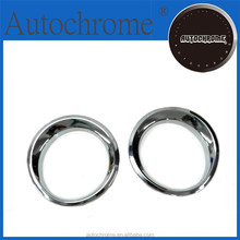 Business gift chrome car trim accent styling Chrome Head Light Cover for Jeep Patriot 11-13